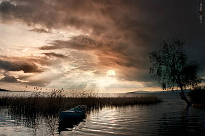 Photograph - Boat On The Lake by Okan YILMAZ