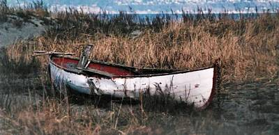 Photograph - Boat Out Of Water by Nadalyn Larsen