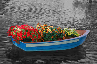 White Flowers Photograph - Boat Parade by Aimee L Maher Photography and Art Visit ALMGallerydotcom