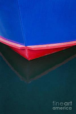 Photograph - Boat Reflection by Elena Nosyreva