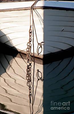 Photograph - Boat Reflection by Simona Ghidini