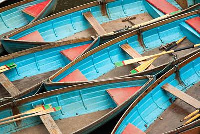 Photograph - Boat Rentals At Oxford Uk by Rob Huntley