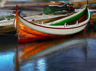 Digital Art - Boat by Rick Mosher