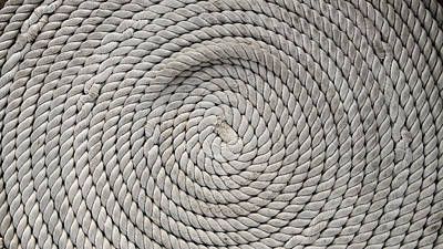 Photograph - Boat Rope No1 by Weston Westmoreland
