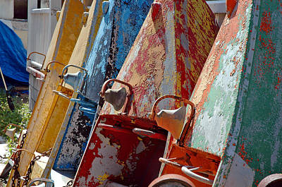 Boat Row Art Print