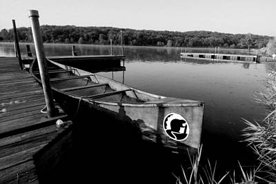 Muskellunge Photograph - Boat by Sandy Fraser