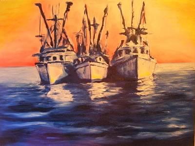 Boat Series 1 Second Edition Original by Ruben Barbosa