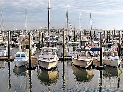 Photograph - Boat Slips by Janice Drew