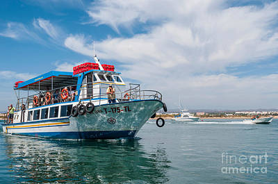Photograph - Boat To Tavira Island by Luis Alvarenga