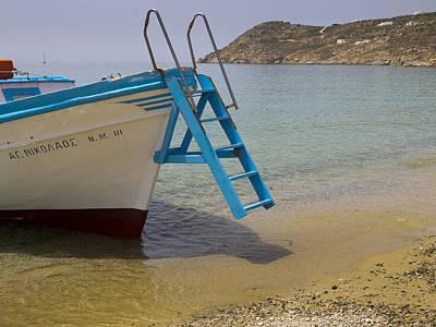 Photograph - Boat Trip To Beach by Brenda Kean