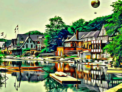 Photograph - Boathouse Color by Alice Gipson