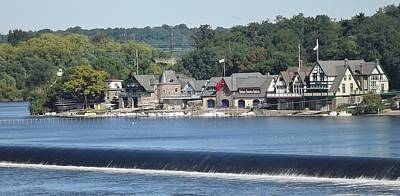 Photograph - Boathouse Row by John Wartman