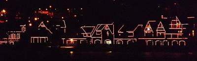 Photograph - Boathouse Row Lights by John Wartman
