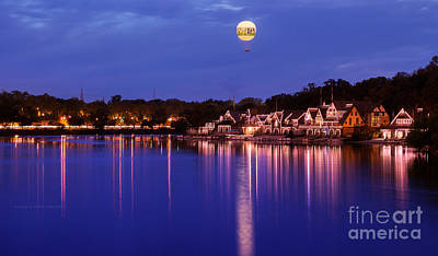 Photograph - Boathouse Row by Rima Biswas
