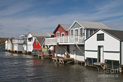 Photograph - Boathouse Row by William Norton