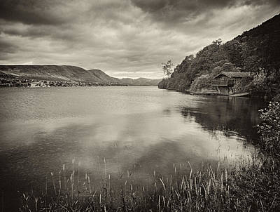 Boathouse Ullswater Art Print by Graham Moore