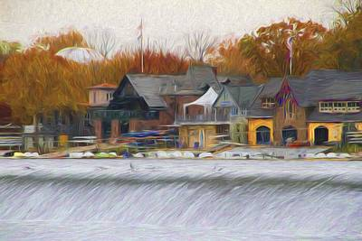 Photograph - Boathouse Waters by Alice Gipson