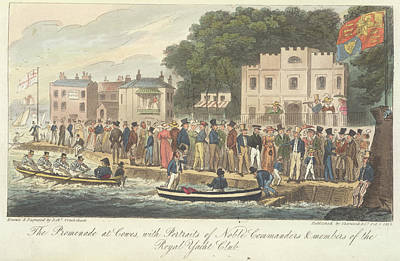 Boating At Cowes Art Print by British Library