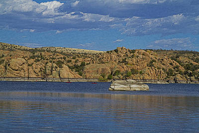 Watson Lake Photograph - Boating At The Dells by Tom Kelly