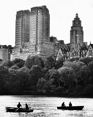 Central Park Photograph - Boating Central Park by David Lobos