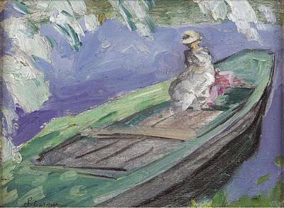 Boating Art Print by Henri Lebasque