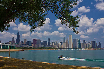 Photograph - Boating In Chicago  by John McGraw