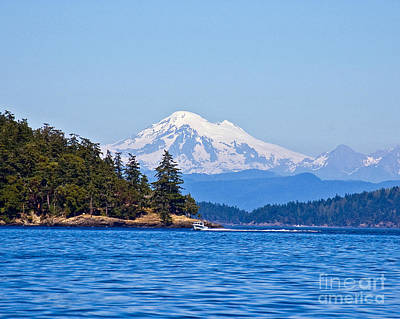 Boating On Puget Sound Art Print