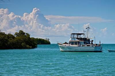 Photograph - Boating Through The Mangrove Keys by Ricardo J Ruiz de Porras