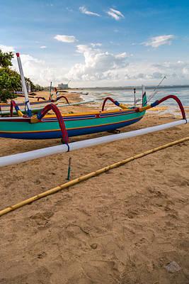 Boats - Bali Art Print