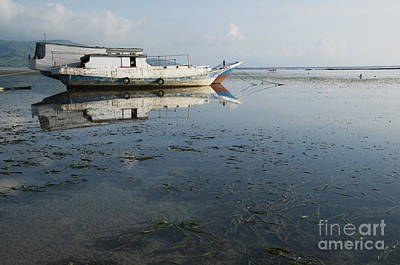 Photograph - Boats Anchored At Atauro Island by Dan Suzio