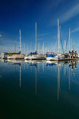 Photograph - Boats And Masts by James Eddy