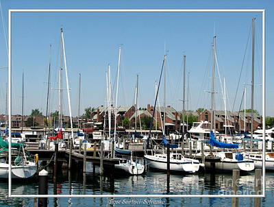 New York Photograph - Boats And More Boats In Buffalo by Rose Santuci-Sofranko