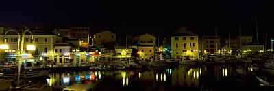 Maddalena Photograph - Boats At A Harbor, La Maddalena by Panoramic Images