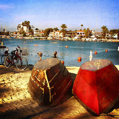 Photograph - Boats At Alamitos Bay by Timothy Bulone