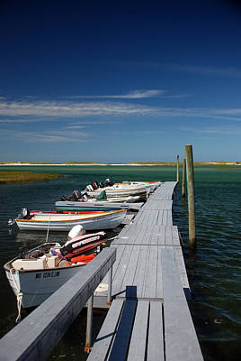 Photograph - Boats At Bass Hole  by Mark Wiley