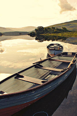 Photograph - Boats At Cloone by E j Carr