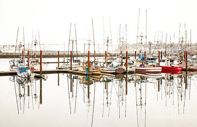 Photograph - Boats At Newport Marina by Margaret Hood