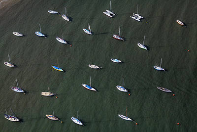St.kilda Photograph - Boats At St Kilda Boat Harbour by Brett Price