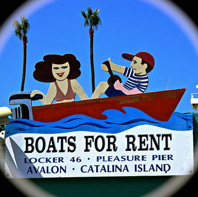 Photograph - Boats For Rent by Jeff Gater