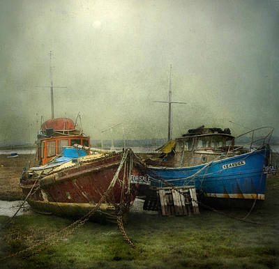 Art Print featuring the photograph Boats For Sale by Brian Tarr