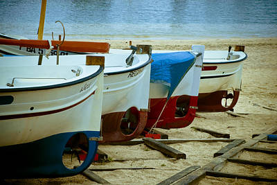 Small Boat Photograph - Boats by Frank Tschakert