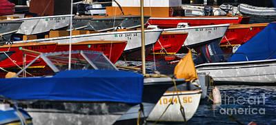 Photograph - Boats Galore By Diana Sainz by Diana Raquel Sainz
