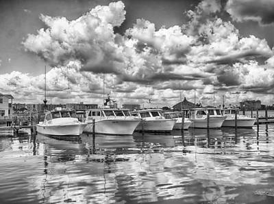 Photograph - Boats by Howard Salmon