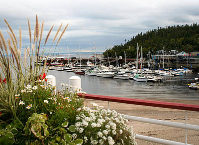 Photograph - Boats In Tadoussac by Kathryn McBride