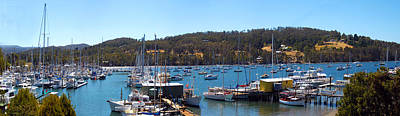 Photograph - Boats In The Bay by Glen Johnson