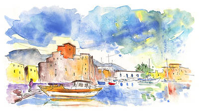 Painting - Boats In Trapani by Miki De Goodaboom