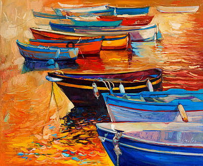 Boats Original by Ivailo Nikolov