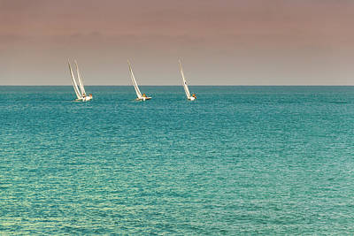Photograph - Boats by Javier Luces