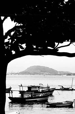 Photograph - Boats Moored In Rio De Janeiro by Celso Diniz