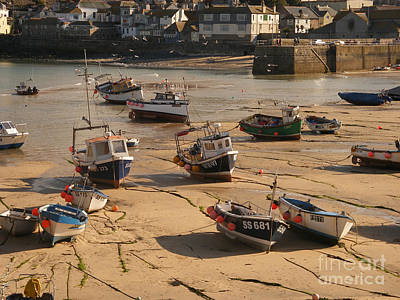 Beach Royalty-Free and Rights-Managed Images - Boats on beach 03 by Pixel Chimp